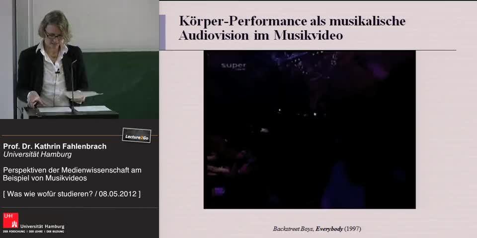 Thumbnail - Ästhetische Aspekte in Musikvideos