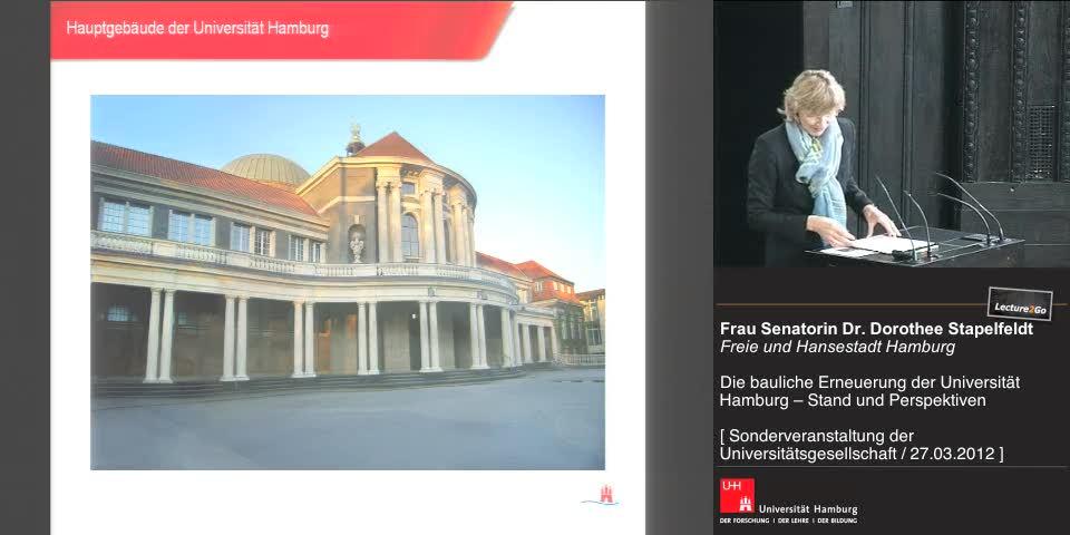 Thumbnail - Vortrag Frau Senatorin Dr. D. Stapelfeldt