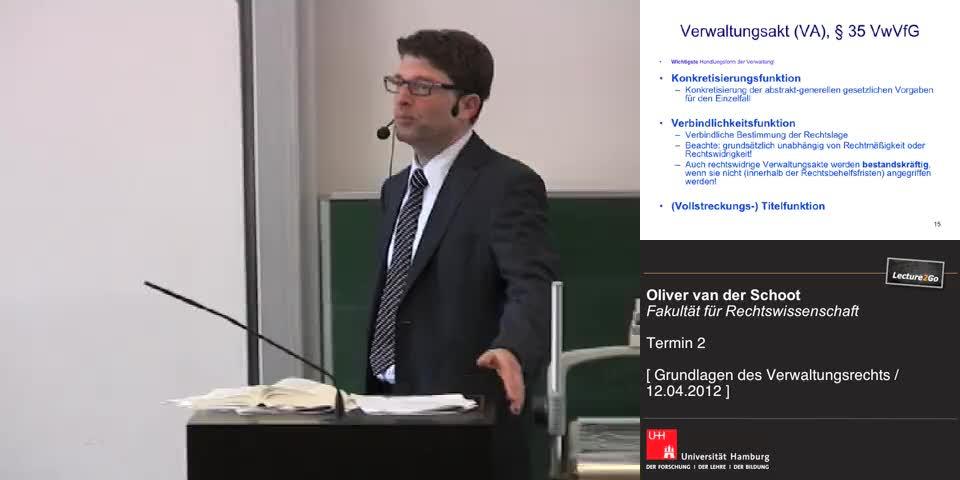 Thumbnail - Verwaltungsakt (VA), § 35 VwVfG