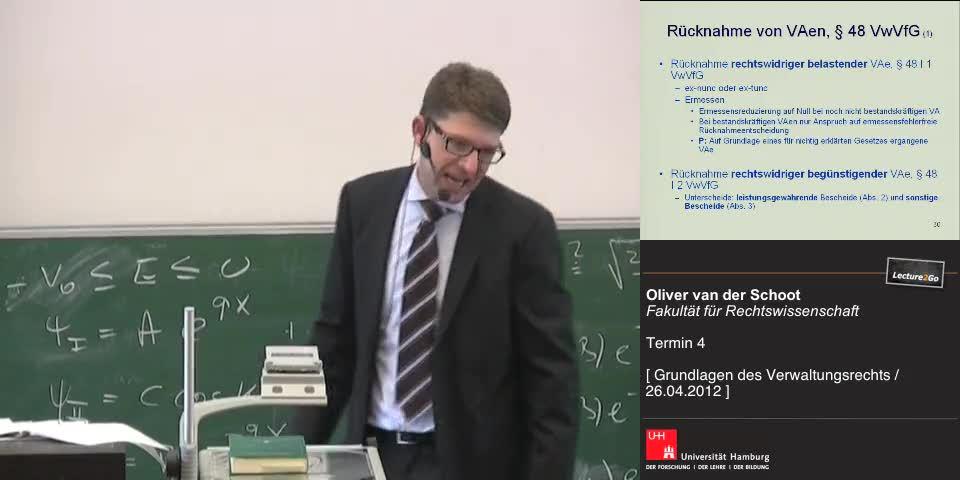 Thumbnail - Aufhebung von VAen nach § 48 VwVfG (1)