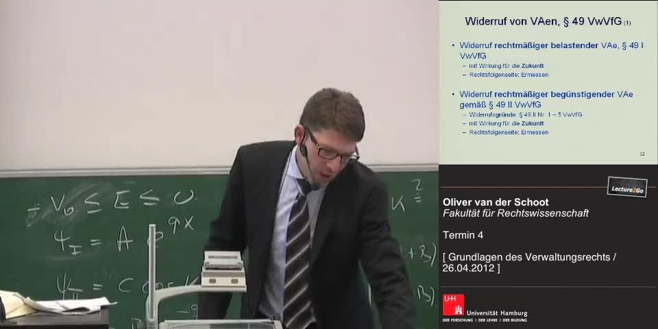 Thumbnail - Widerruf von VAen nach § 49 VwVfG (1)