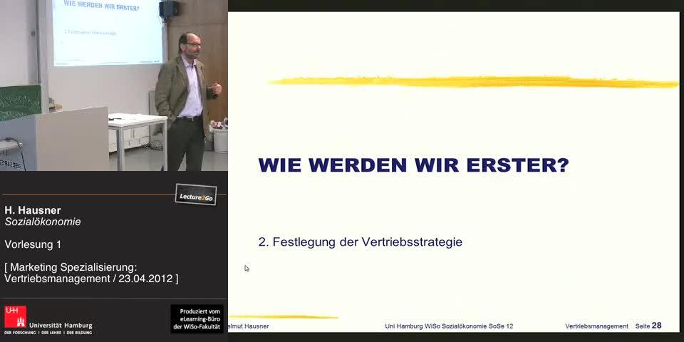 Vorschaubild - Elemente der Vertriebsstrategie/Segment-& Kundenselektion / Folien 28-39