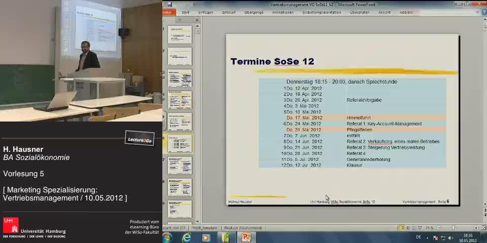 Vorschaubild - Wiederholung der letzten VO Stunde / Folien 123-56
