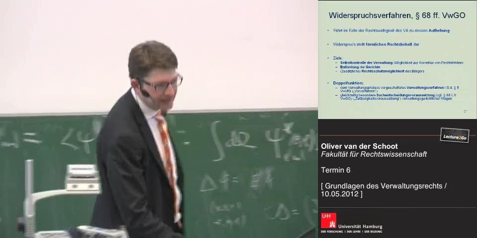 Thumbnail - Widerspruchsverfahren, §§ 68 ff. VwGO