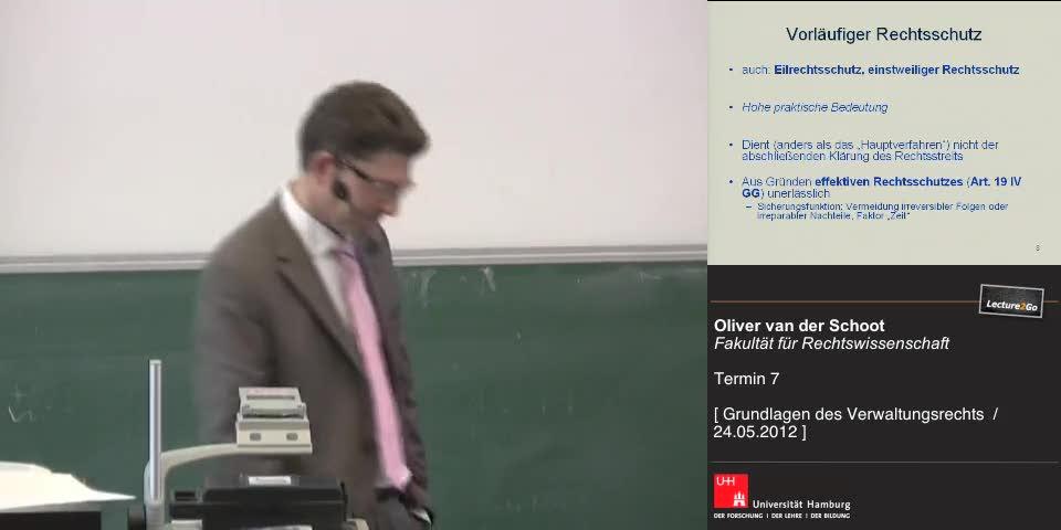 Thumbnail - Vorläufiger Rechtsschutz