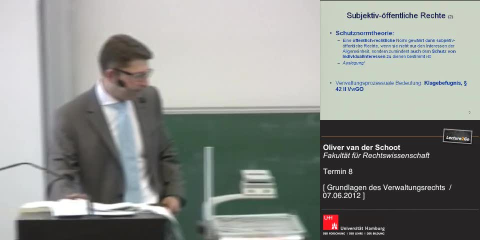 Thumbnail - Subjektiv-öffentliche Rechte (2)