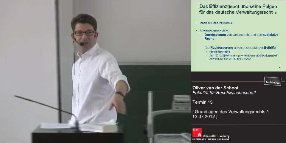 Thumbnail - Das Effizienzgebot u. seine Bedeutung für das dt. Verwaltungsrecht (1)