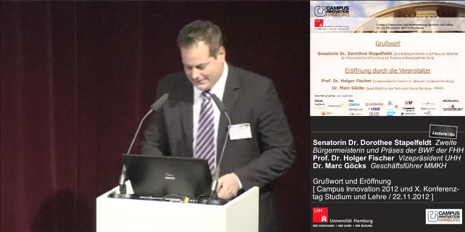 Thumbnail - Dr. Marc Göcks: Eröffnung
