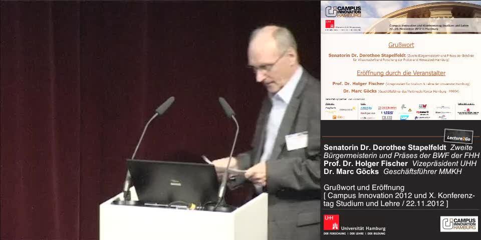 Thumbnail - Prof. Dr. Holger Fischer: Eröffnung