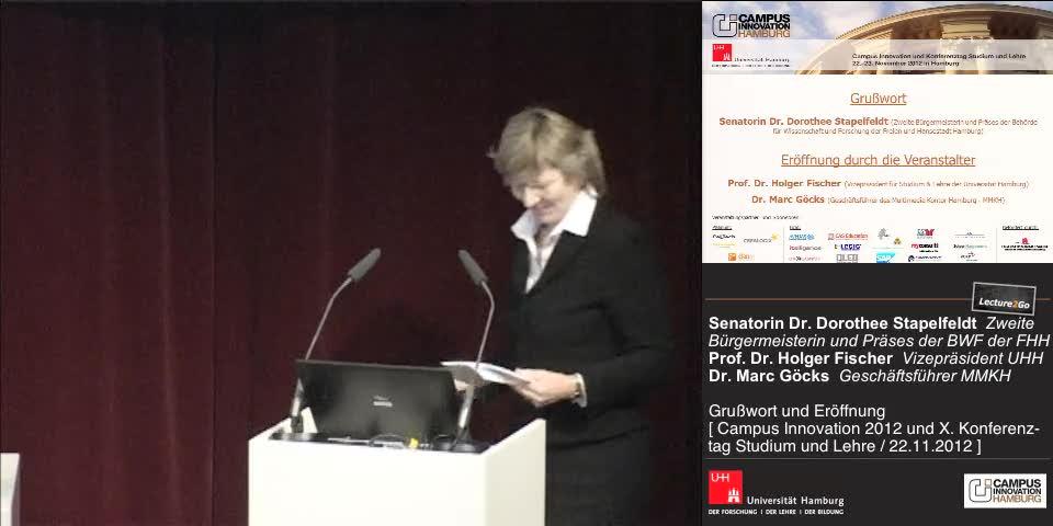 Thumbnail - Dr. Dorothee Stapelfeldt: Grußwort