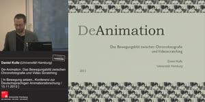 Miniaturansicht - De-Animation. Das Bewegungsbild zwischen Chronofotografie und Video Scratching
