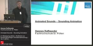 Miniaturansicht - Animated Sounds – Sounding Animation