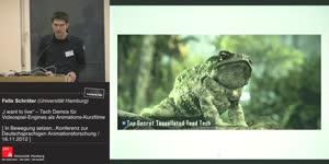 """Miniaturansicht - """"I want to live"""" – Tech Demos für Videospiel-Engines als Animations-Kurzfilme"""