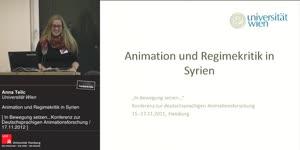 Miniaturansicht - Animation und Regimekritik in Syrien
