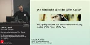 Miniaturansicht - Die motorische Seele des Affen Caesar – MoCap-Figurationen von Bewusstseinsentwicklung in Rise of the Planet of the Apes