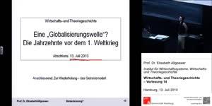 Thumbnail - (14) Wirtschafts- und Theoriegeschichte