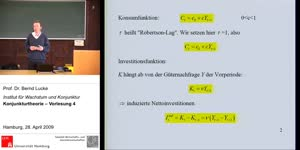 Miniaturansicht - (4) Konjunkturtheorie