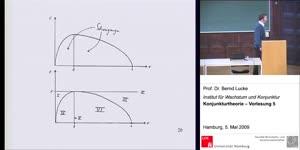 Miniaturansicht - (5) Konjunkturtheorie