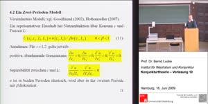 Miniaturansicht - (10) Konjunkturtheorie
