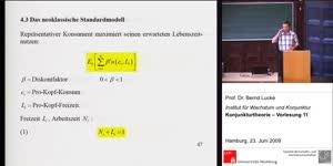 Miniaturansicht - (11) Konjunkturtheorie