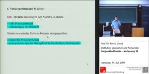 Vorschaubild - (14) Konjunkturtheorie