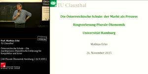 Miniaturansicht - Österreichische Schule: der Markt als Prozess