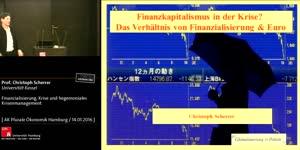 Thumbnail - Christoph Scherrer: Finanzialisierung, Krise und hegemoniales Krisenmanagement