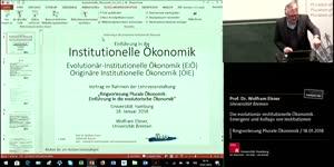 Vorschaubild - Die evolutionär-institutionelle Ökonomik. Emergenz und Kollaps von Institutionen