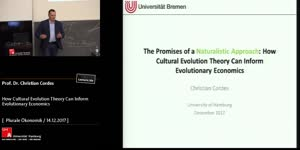 Miniaturansicht - The promises of a naturalistic approach: How cultural evolution theory can inform evolutionary economics