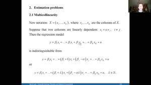 Miniaturansicht - Estimation and Inference 5.1.