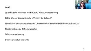 Miniaturansicht - 9. Sitzung: Wandel beobachten. Qualitative Langzeitstudien