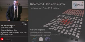 Thumbnail - Disordered ultracold atoms