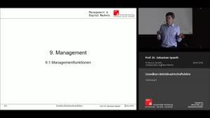 Vorschaubild - Vorlesung 11 - Management
