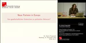 Miniaturansicht - Neue Parteien in Europa: Von gesellschaftlichen Umbrüchen zu politischen Akteuren