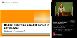 Vorschaubild - Radical Right-Wing Populist Parties in government: Challenge or Opportunity?