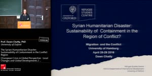 Thumbnail - The Syrian Humanitarian Disaster: Sustainability of Containment in the Conflict Region