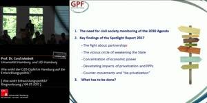 Miniaturansicht - Wie wirkt der G20-Gipfel in Hamburg auf die Entwicklungspolitik?