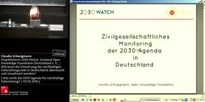 Miniaturansicht - Zivilgesellschaftliches Monitoring der 2030 Agenda in Deutschland