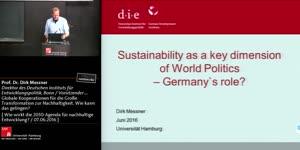 Miniaturansicht - Globale Kooperationen für die Große Transformation zur Nachhaltigkeit - Wie kann das gelingen?