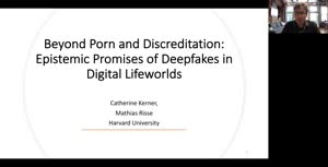 Vorschaubild - Beyond Porn and Disrepute: Epistemic Promises and Perils of Deepfakes in Digital Lifeworlds (Part 1/2)