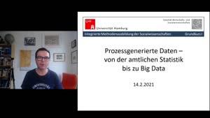 Vorschaubild - 9. Sitzung: Prozessgenerierte Daten und Big Data - Teil 1