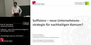Miniaturansicht - Suffizienz – neue Unternehmensstrategie für Konsum?