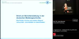 Miniaturansicht - Streit  um  Berichterstattung  in  der  deutschen  Mediengeschichte.  Wie  Politik,  Kirche  und   andere  Akteure  versuchten,  Journalisten  zu  beeinflussen