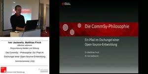 Thumbnail - Die CommSy-Philosophie: Ein Pfad im Dschungel einer Open-Source-Entwicklung