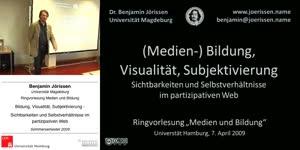 Thumbnail - Bildung, Visualität, Subjektivierung - Sichtbarkeiten und Selbstverhältnisse im partizipativen Web