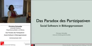 Thumbnail - Das Paradox des Partizipativen - Social Software in Bildungsprozessen