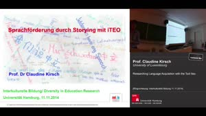 Miniaturansicht - Researching Language Acquisition with the Tool Iteo