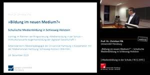 """Miniaturansicht - """"Bildung im neuen Medium?"""" - Schulische Medienbildung in Schleswig-Holstein"""