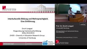 Miniaturansicht - Mehrsprachigkeit und interkulturelle Bildung/ Eine Einführung
