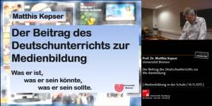 Miniaturansicht - Der Beitrag des Deutschunterrichts zur Medienbildung